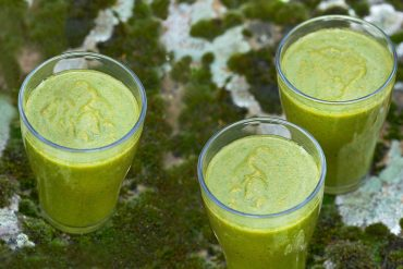 Fresh Green Smoothie 3 Gläser Maike Helbig /www.myotherstories.de