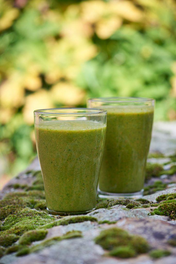 Fresh Green Smoothie 3 Gläser / myotherstories