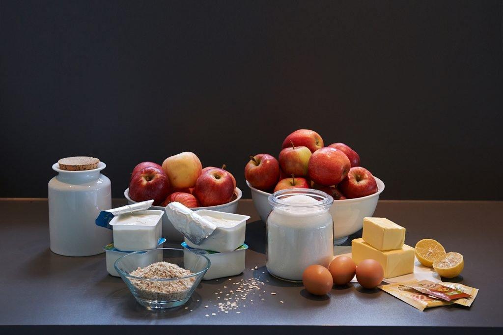 Zutaten-fuer-Apple-Crumble-Cake-Foto Maike Helbig |MyOtherStories.de
