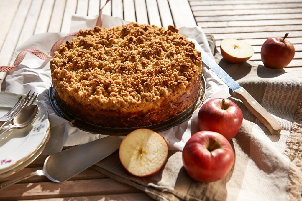 Zutaten-fuer-Apple-Crumble-Cake-Foto Maike Helbig | MyOtherStories.de