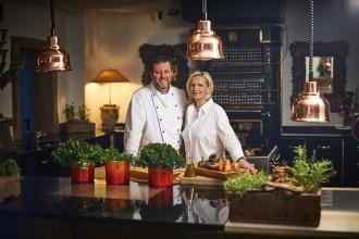 Sternekoch Heilmeyer und Bettina Foto Georgiew / www.myotherstories.de