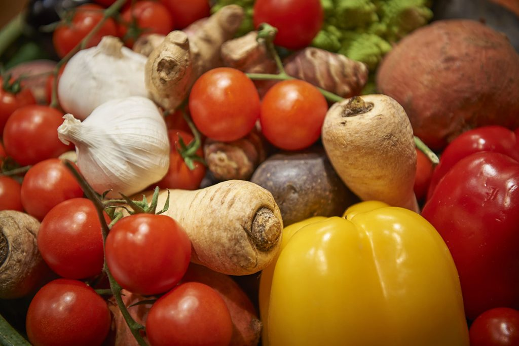 Hotel zur Bleiche Gemüse Foto Nikolaj Georgiew / www.myotherstories.de