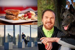 Sport ist Leben, Kraft & Mut: Besuch bei Personal Trainer Dr. Michèl Gleich