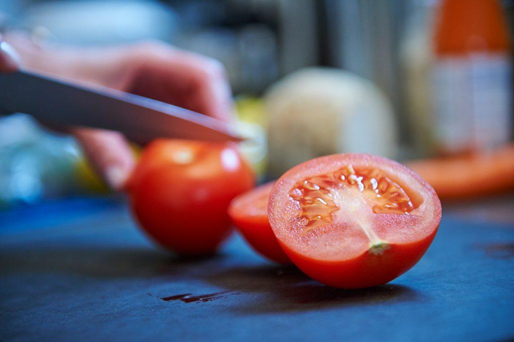 Tomatensuppe mit Parmesan Foto Maike Helbig / www.myotherstories.de