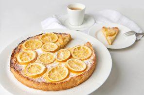 Sauer macht süchtig – Karamellisierte Citrus-Cheesecake-Tarte