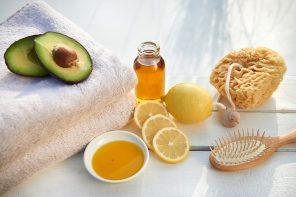 Haarmaske mit Avocado, Öl und Zitrone: Pflege & Glanz für trockene, strapazierte Haare