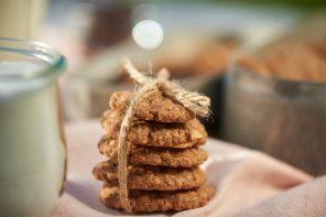 Schnelle Glücklichmacher – Schoko-Knusper-Kekse mit Mandelsplittern und Vanille